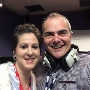 Melvyn Prior BBC Radio Lincolnshire Bloodwise Ambassador Leukaemia AML