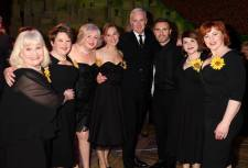 Cast members with Gary Barlow & Tim Firth