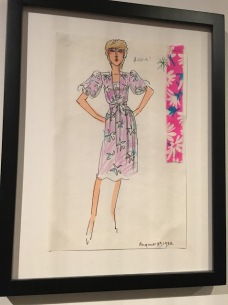 Diana sketch designer prince william christening