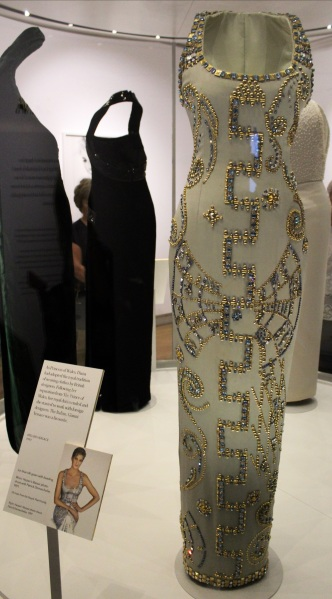 Diana Versace dress designer kensington palace exhibition