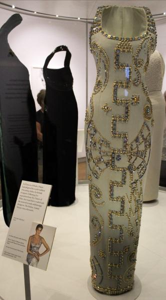 Diana Versace dress designer kensington palace exhibition