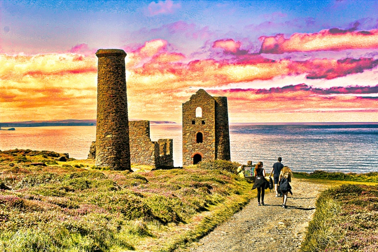 Wheal coates edit mine cornwall poldark photography