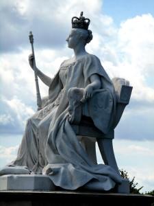 Queen Victoria Statue kensington palace historic royal palaces