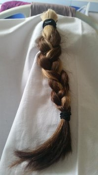 My Plaited hair