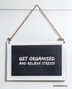 lifestyle blog stress relief organised home