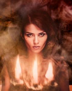 fierce woman kind but strong
