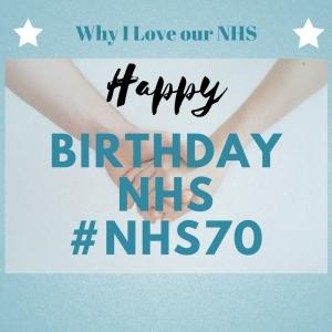 #NHS70 birthday NHS AML Leukaemia