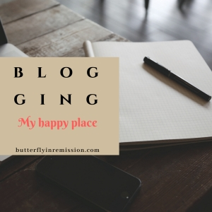 blogging butterfly in remission Lifestyle & Cancer