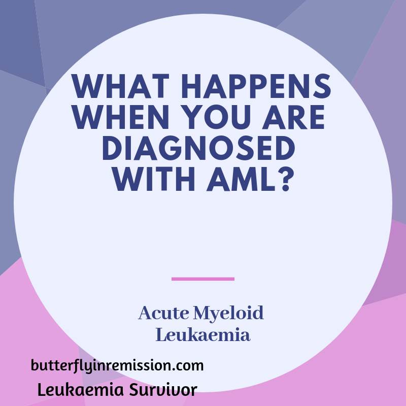 What happens when you are diagnosed with Acute Leukaemia? (AML)