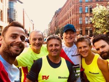 Matt Kennard, Ray Macallan, George Rainsford & team