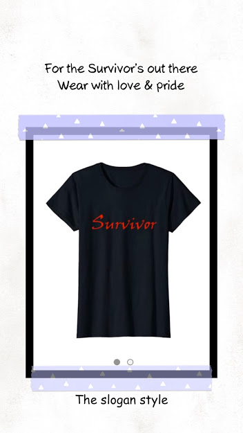 survivor tee slogan top